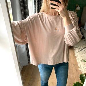 Gap Blush Pink Tunic Top XS